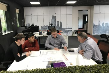 Priestley Construction Hosts Bradford Students