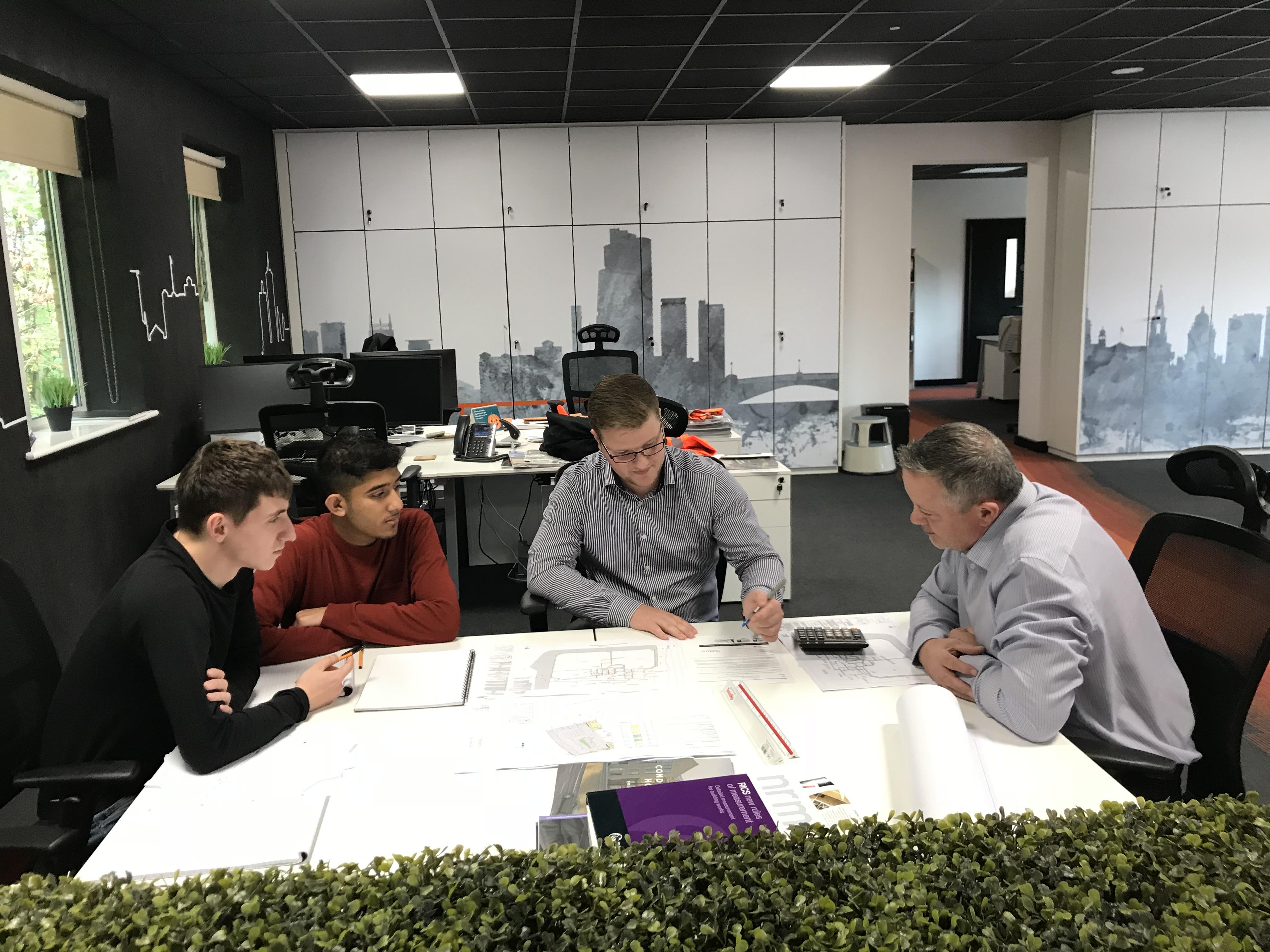 Priestley Construction Hosts Bradford Students