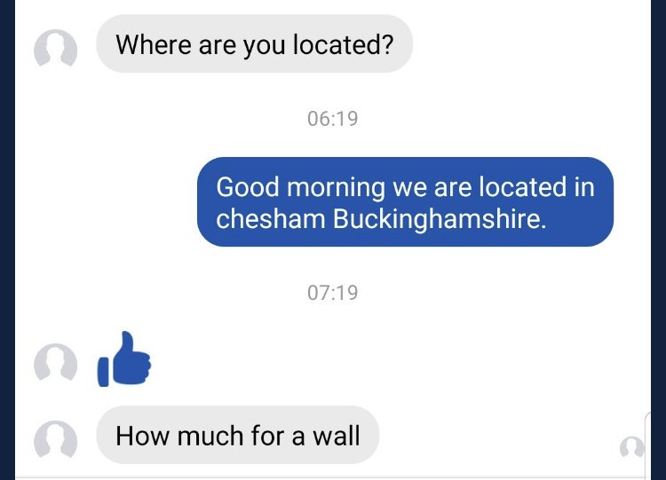 Builders share ridiculous Facebook messages from the public
