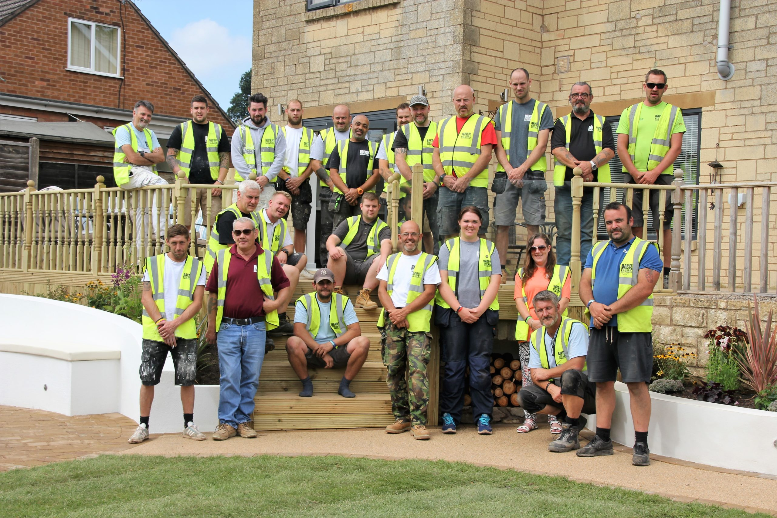 Band of Builders charity partners with DEWALT tools to support tradespeople through the toughest times