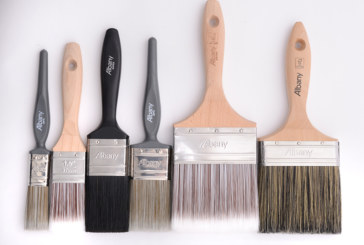 Albany's new range of brushes and rollers