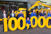 100,000TH JCB Mini Digger Produced