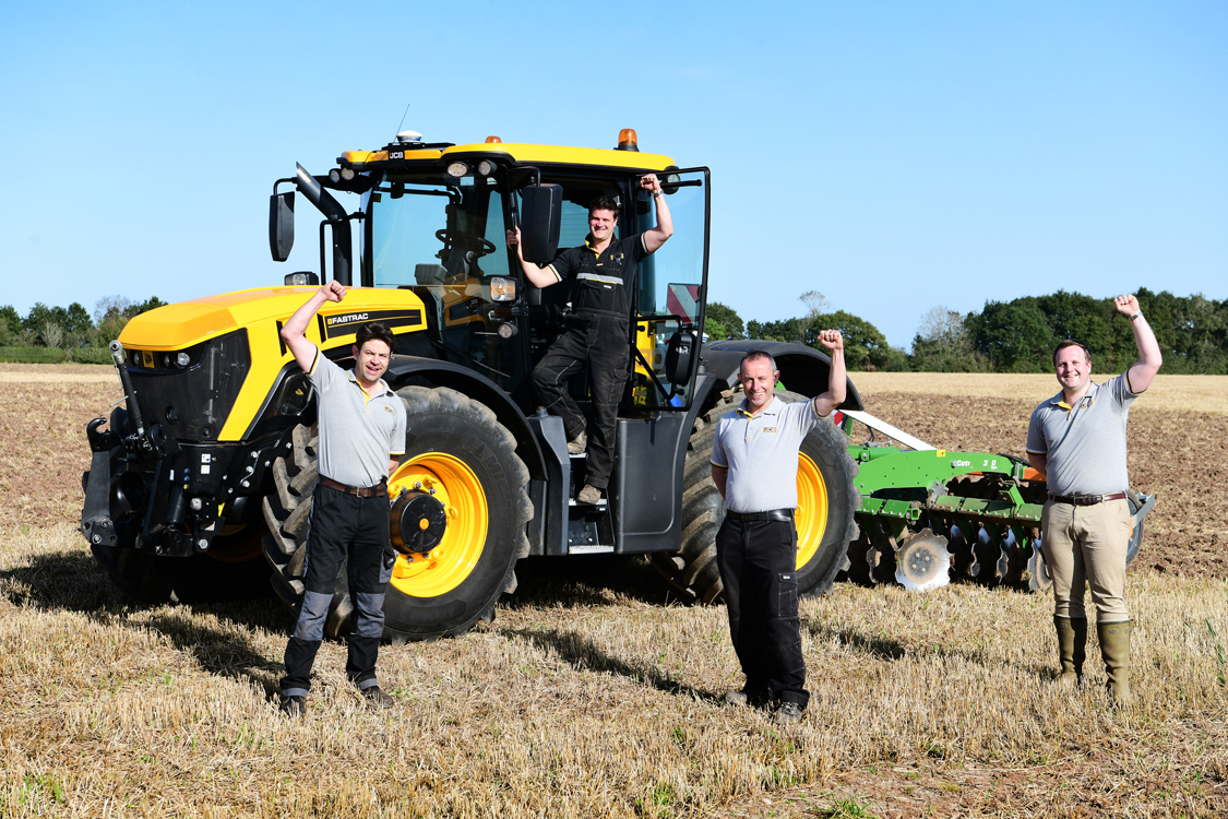 JCB creates out-of-this-world 75th Birthday artwork