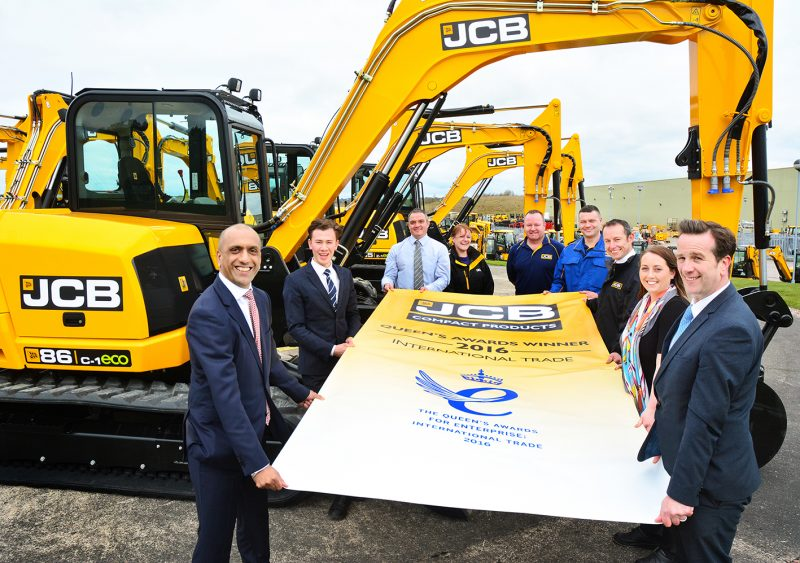 Queen Honours JCB