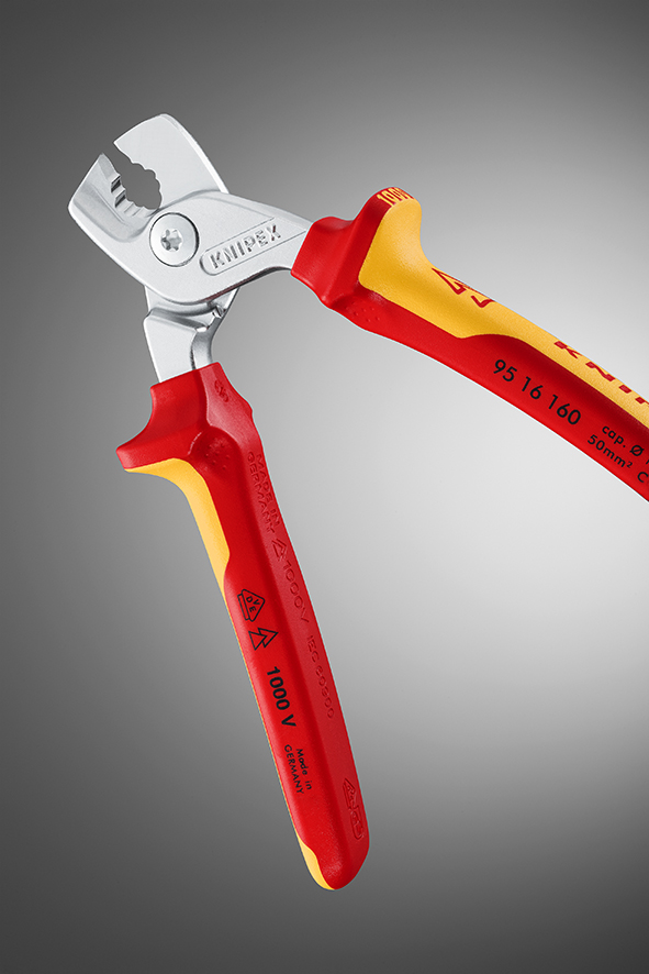 Taking the effort out of cutting cables: Meet the KNIPEX StepCut