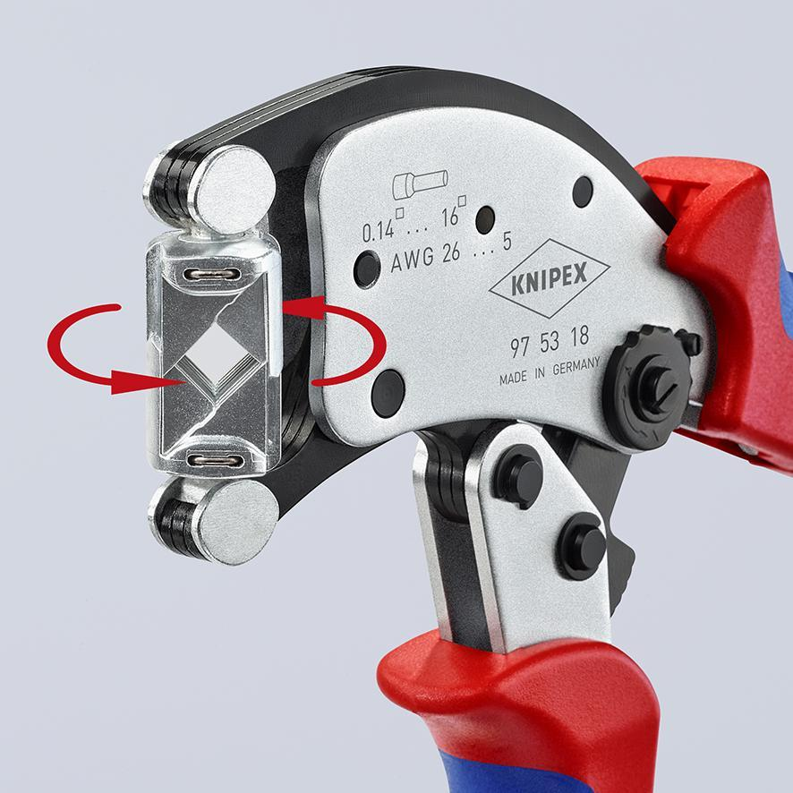 KNIPEX Twistor16 delivers high crimping quality