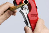 "KNIPEX goes ""Into the Workshop"" with the TubiX® Pipe Cutter"