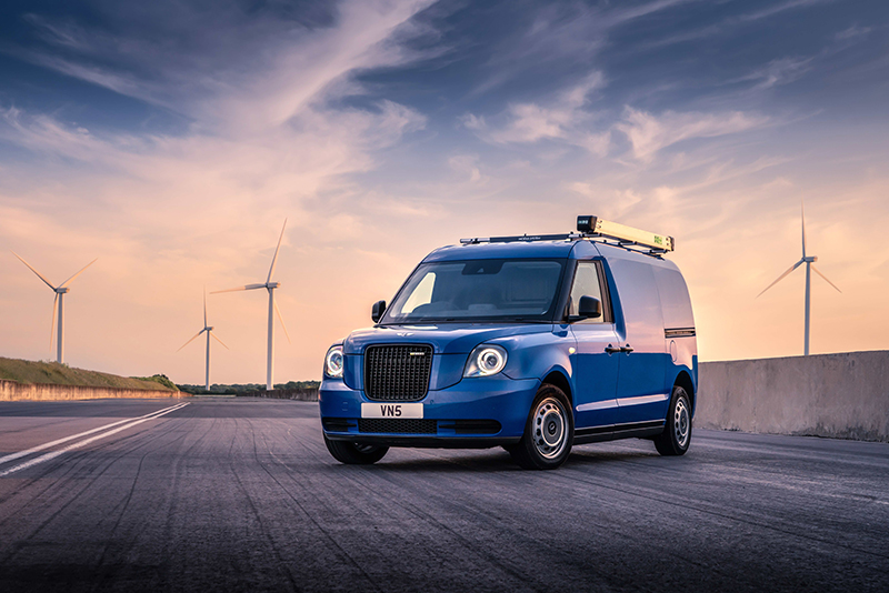 LEVC launches VN5 electric van