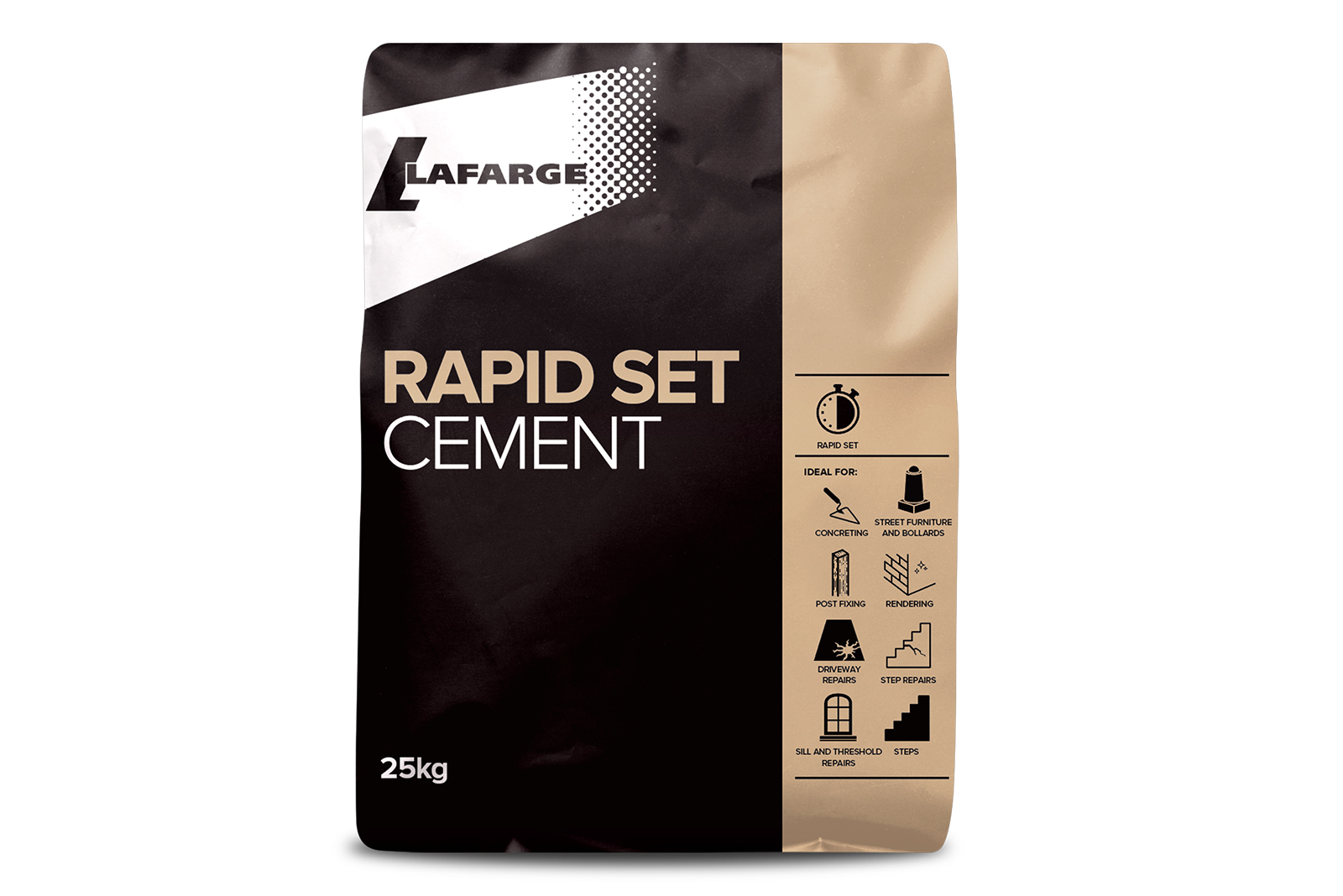 Packed cement from Lafarge