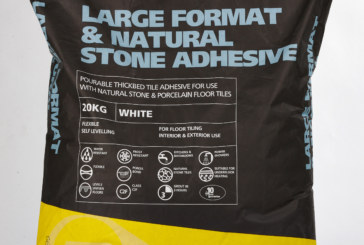 Natural stone adhesive from Dunlop