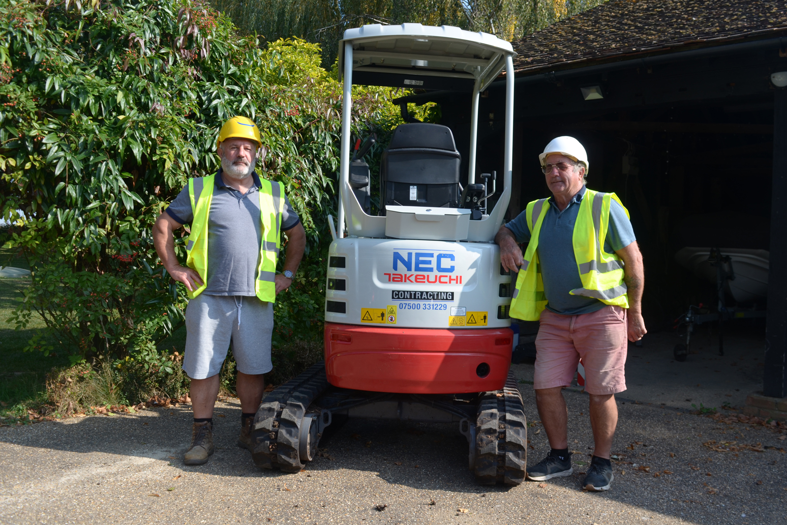 Investing in Takeuchi mini excavators
