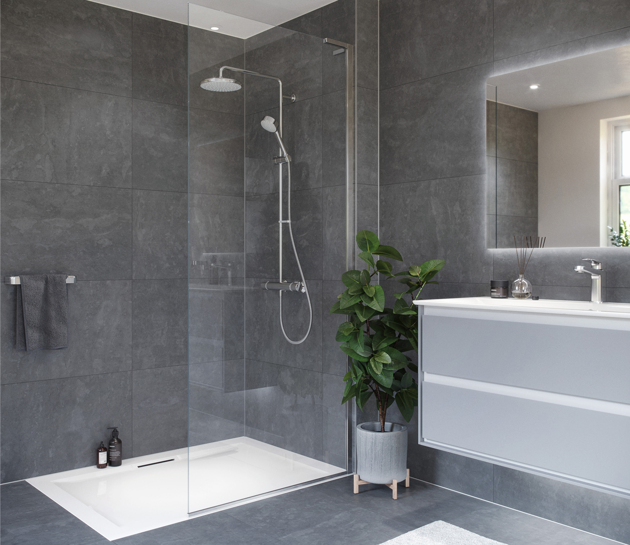 Benefits of bar shower valves by Mira Showers