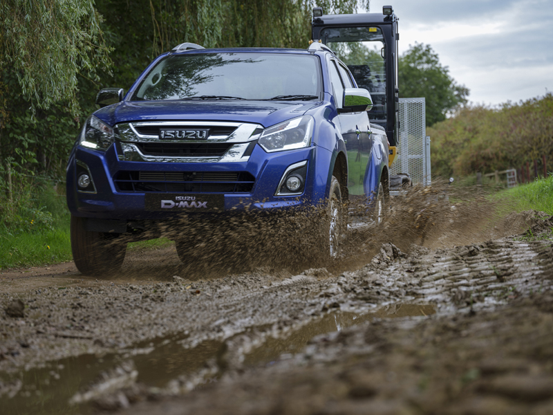 The updated Isuzu D-Max