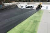 The importance of using a good quality adhesive on flat roof projects