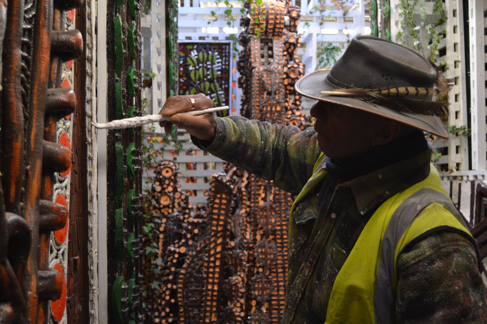 Meet the builder turning waste into art
