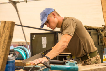 Combining construction with life as a soldier in the Royal Engineers