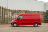 Which are the top five 3.5 tonne vans?