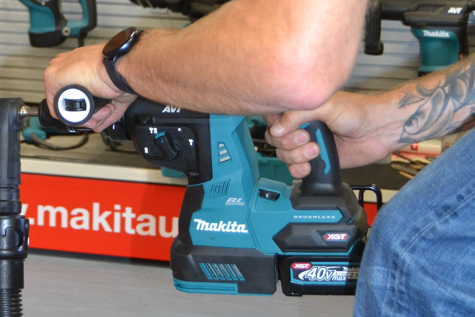 Makita's new range of Nemesis II SDS-PLUS drill bits