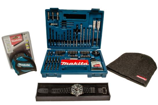 Win a Makita Prize Bundle!