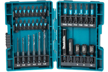 Impact Black accessories from Makita