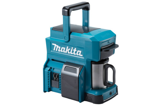 Makita cordless coffee maker