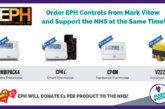 Mark Vitow Ltd Partners with EPH Controls in 50K NHS Fundraiser