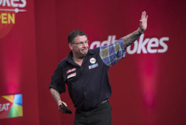 McAlpine teams up with the 'Flying Scotsman' Gary Anderson