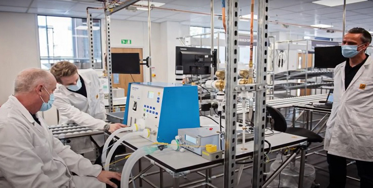 Mira Showers takes on the challenge of producing critical care ventilators