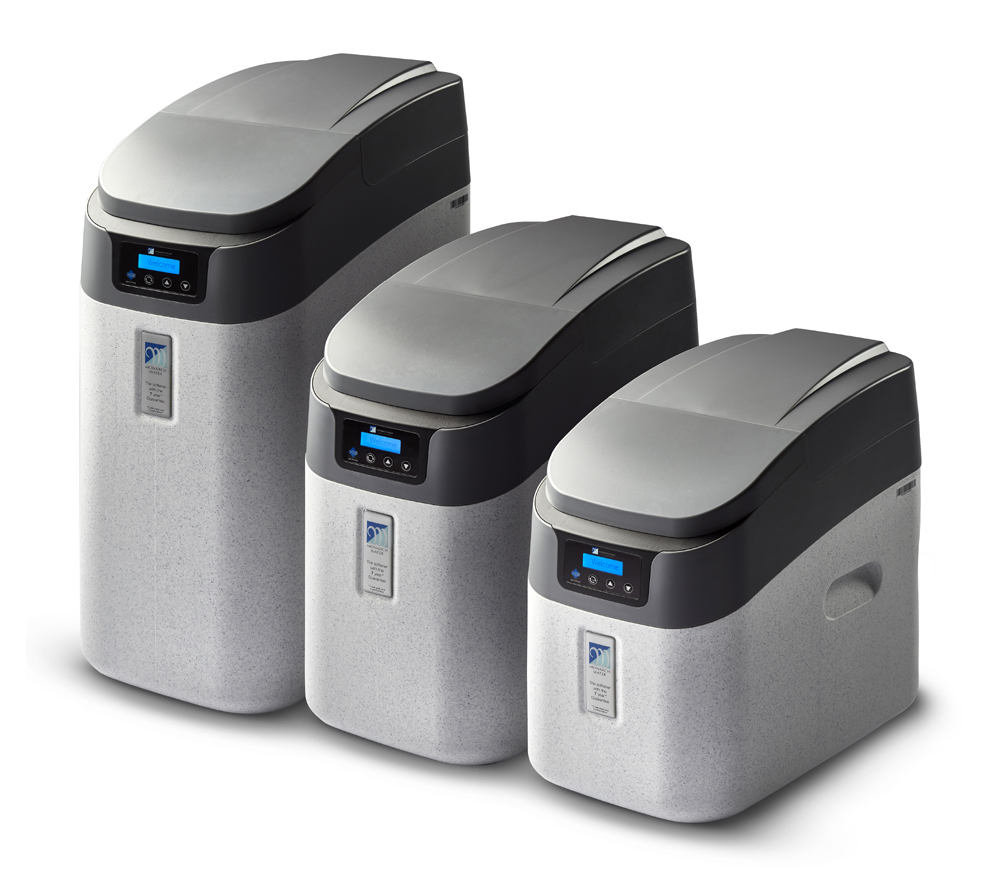 Monarch Water's next generation of water softeners - Master HE, Midi HE, MiniAqua HE