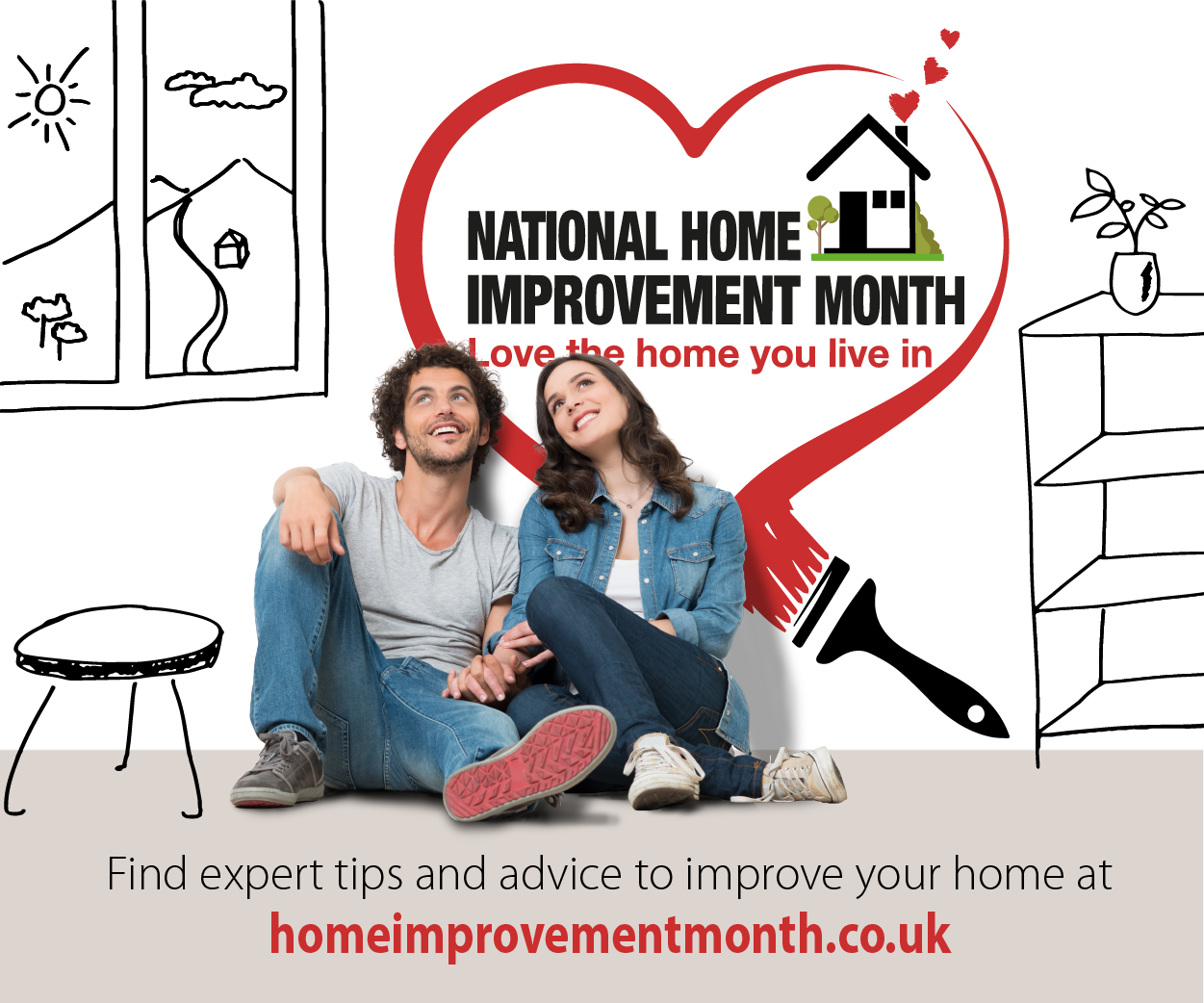 IronmongeryDirect supports National Home Improvement Month with positive mental health message