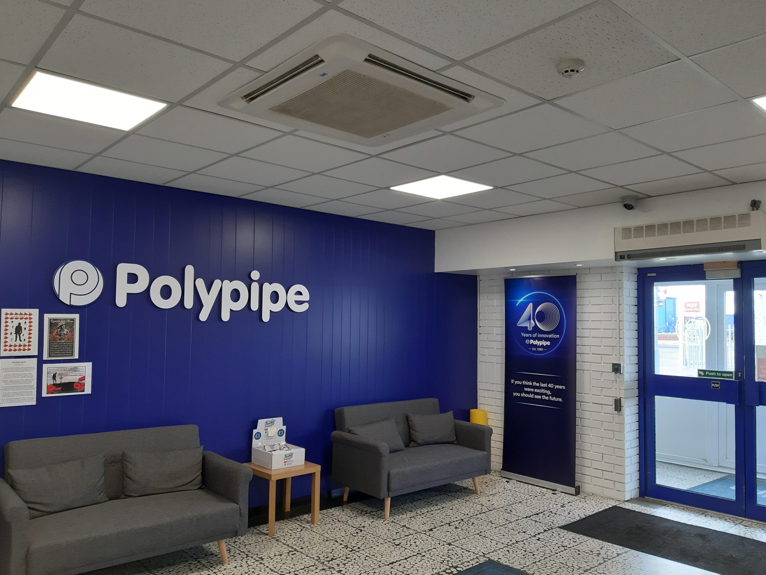 Polypipe turns 40