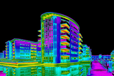 Thermal imaging surveys used to identify heat loss in new builds