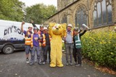 DIY SOS BBC Children in Need special comes to Caswell Bay, Swansea