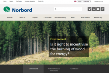 Norbord Opens New Website