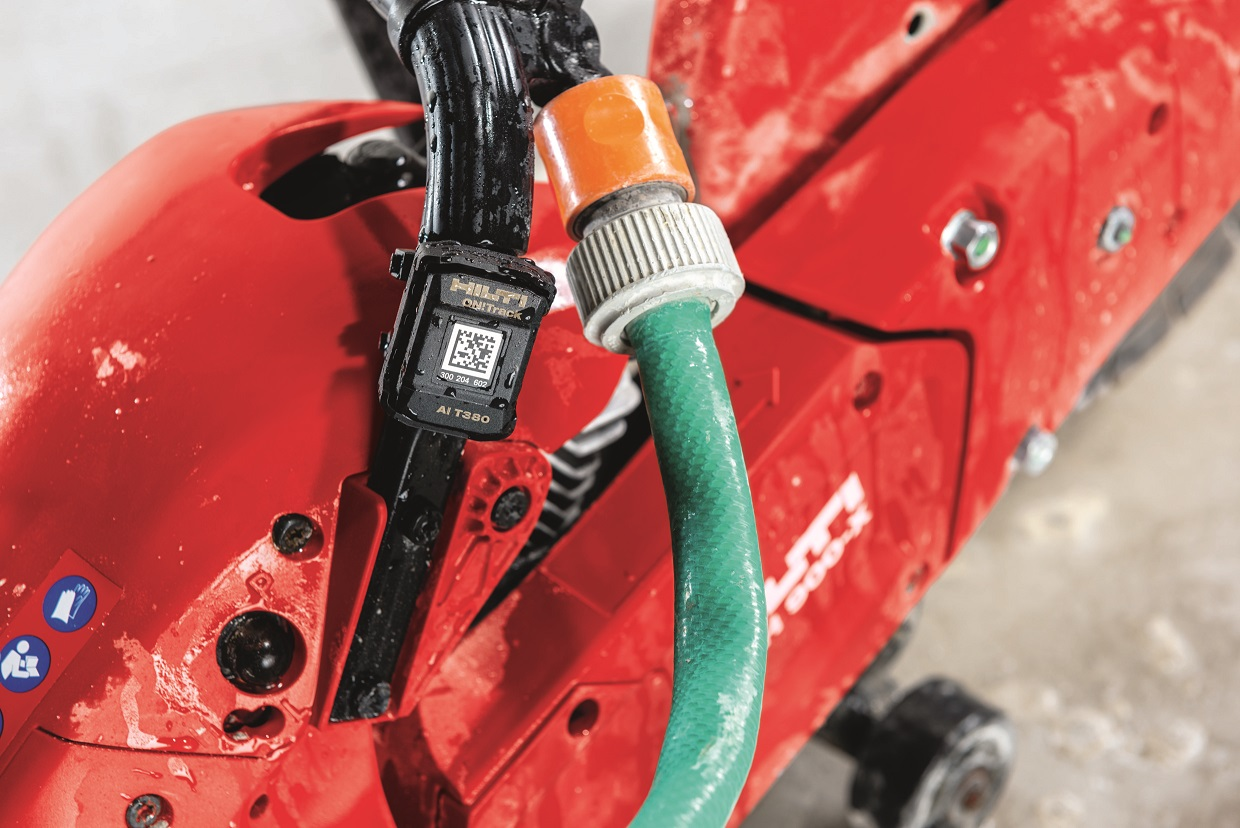 Bluetooth tracking from Hilti