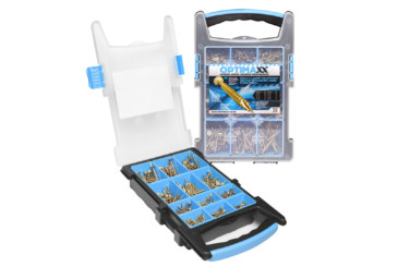 3 Optimaxx woodscrew selecta cases up for grabs