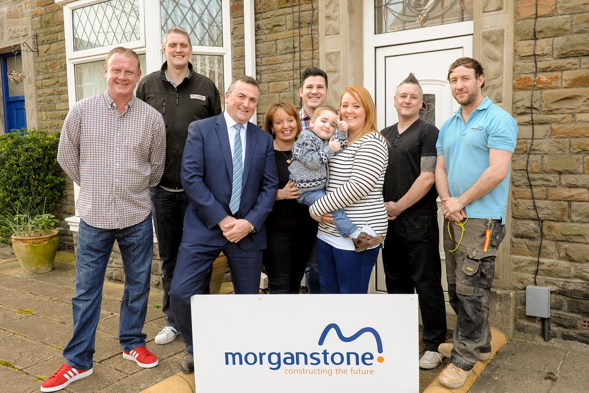 Charitable House Makeover For Family Thanks to Morganstone