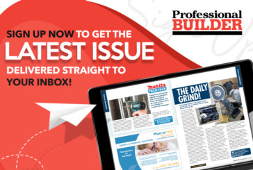 Sign up to receive Professional Builder by email