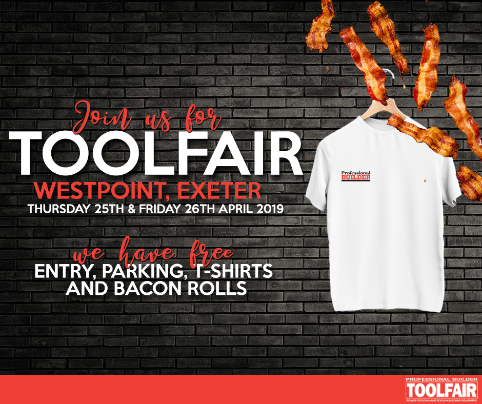 Toolfair heads to Exeter's Westpoint Arena