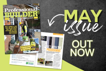 Professional Builder's May issue available NOW