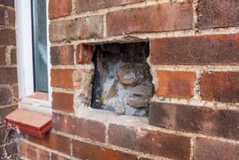When cavity wall insulation fails