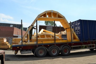 ITW Construction Products' Curved Roof Truss Design