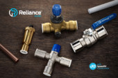 New Reliance Valves' push-fit range with JG Speedfit technology