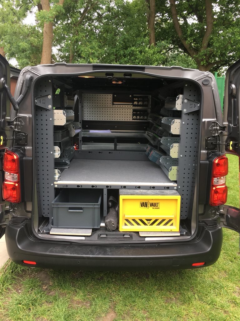 The benefits of van racking