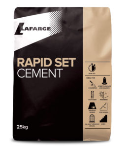 lafarge rapid set cement