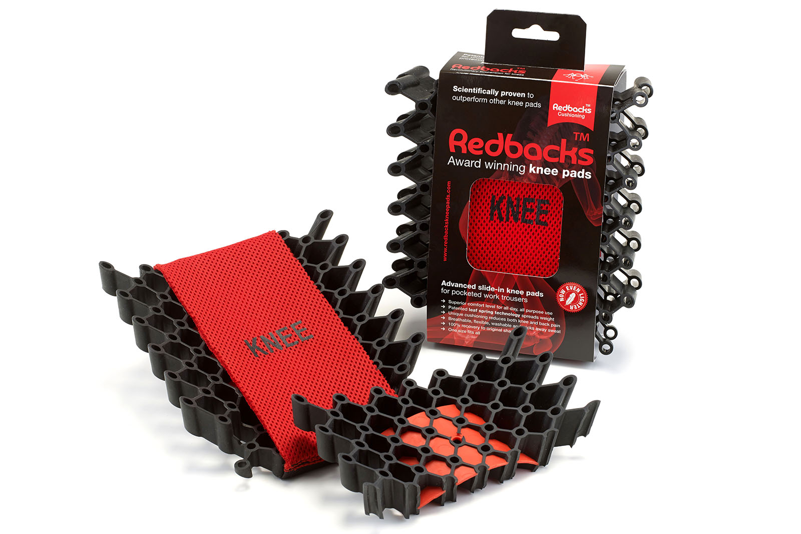 Win a pair of Redbacks Pocket Kneepads