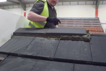 Redland: Installation of Mortar Bedded Ridges