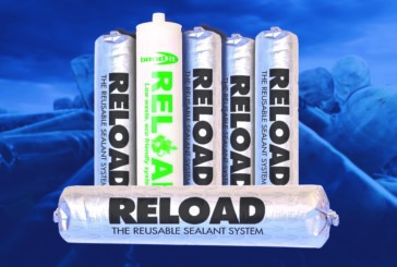 Sustainable sealants– lock and Re-load