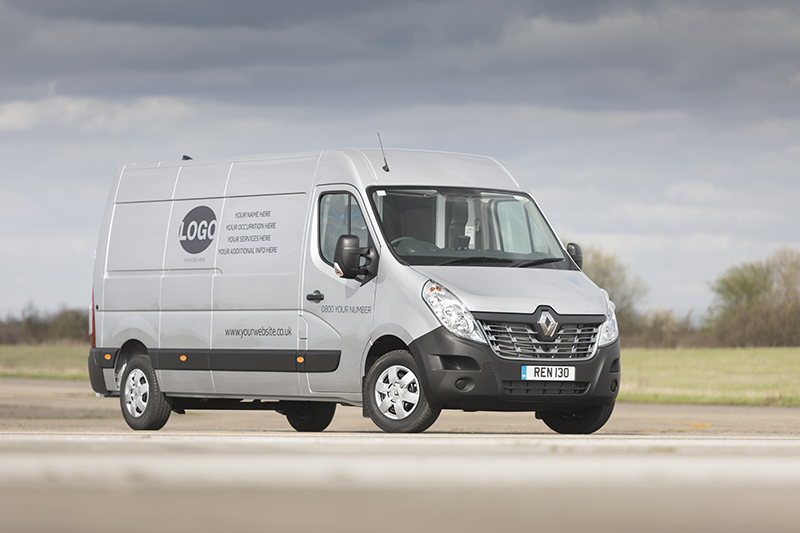 Renault Pro plus Commercial Vehicles offers manufacturer supplied sign writing