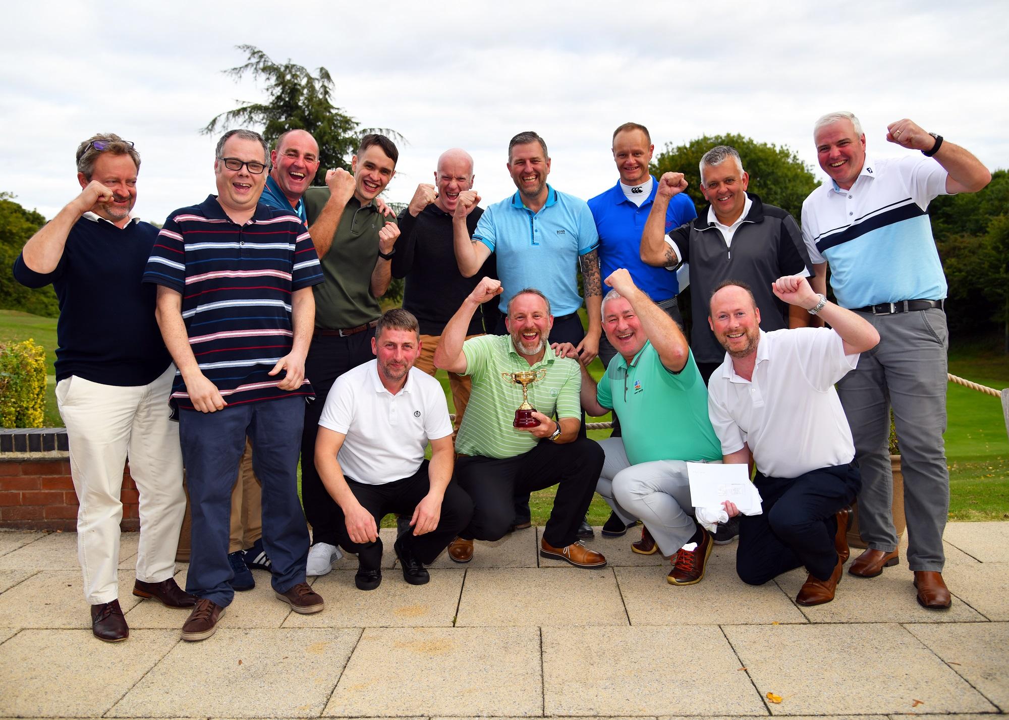 Russell Roof Tiles Golf Tournament Raises Over £5,000
